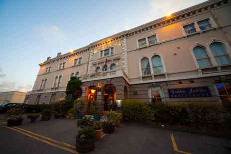 The Royal Hotel - Two night seaside break for two including tea and muffin and breakfast - Save 55%