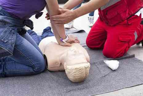 First Aid Training Organisation - One day first aid course including a three year certificate for one or two - Save 61%