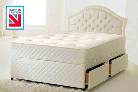 Midnight Dreams - Single or small single memory sprung mattress - Save 86%