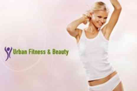 Urban Fitness & Beauty - Three Ultrasound Cavitation Sessions Plus One Vibration Plate Session - Save 81%