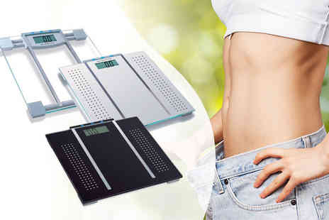 Zoozio - Seven in One bathroom scales choose from three colours - Save 62%