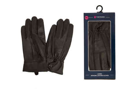 Ckent - Pair of ladies leather gloves - Save 53%