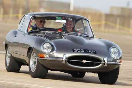 Buyagift - 6 lap Jaguar E Type supercar driving thrill experience - Save 0%