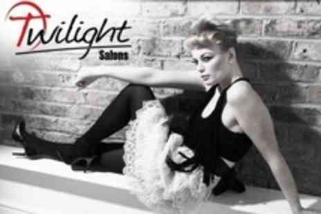 Twilight Salons - Makeover Photo Shoot With Six Images on Disc - Save 93%