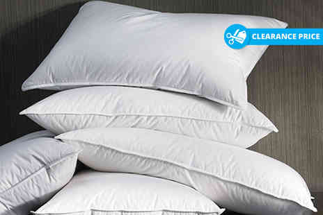 Home Furnishings Company - Two or four anti allergy super bounce back pillows - Save 83%