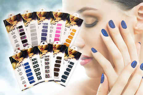 Forever Cosmetics - 80 nail wraps - Save 80%
