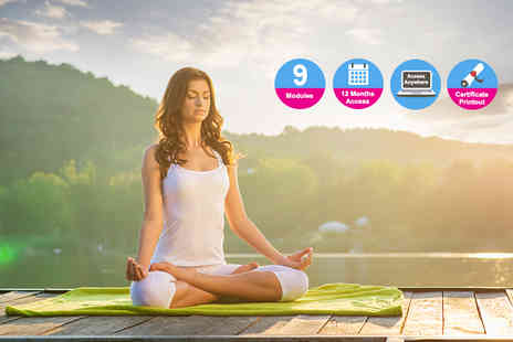 Kew Training Academy - Online diploma in yoga - Save 84%