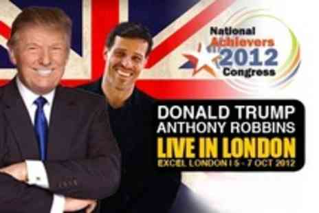 Success Resources -  Two Tickets to Three Day Event Featuring Donald Trump - Save 70%