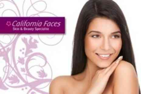 California Faces - Any One Treatments of Choice of Facial Thread Vein, Skin Tag, Mole or Wart Treatments - Save 60%