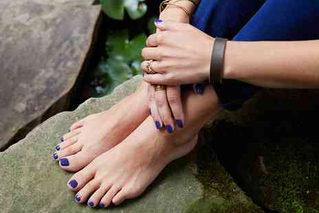 L Beau Clinique - Shellac Manicure or Pedicure or Both - Save 44%