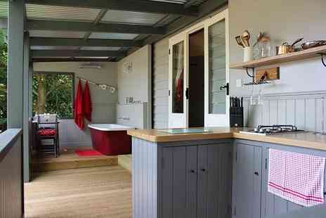 Thompson Hall Retreat - Overnight luxury woodland hut stay for two - Save 47%