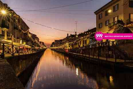Worldwide Tours & Travel - Two or three night 4 Star Milan break with flights and breakfast - Save 62%