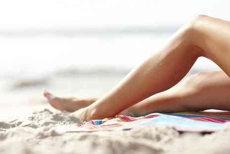 GeGe Hair and Beauty - Full Leg or Hollywood Waxing or Both - Save 50%