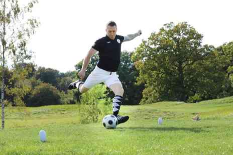 Gatwick Footgolf - Weekday or Weekend 18 Holes of Footgolf with Beer or Soft Drink for Two or Four - Save 56%