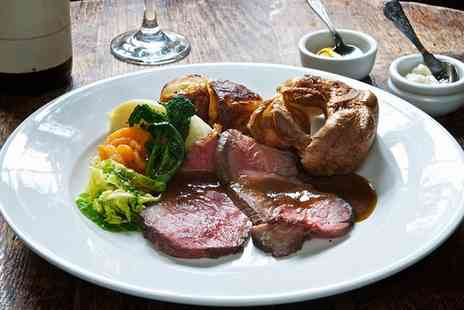 Ring O Bells - Sunday Carvery Roast with Glass of Wine for Two or Four - Save 46%