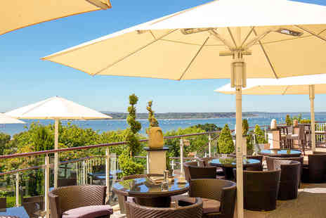 Harbour Heights Hotel - Four Star Panoramic Views over Poole Harbour For Two - Save 49%