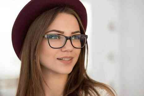 The Spectacle Store - Eye test and two pairs of glasses or with two pairs of tinted glasses or with one pair of designer glasses - Save 0%
