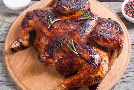 The Chicken Place - Grilled peri peri chicken family meal with sides, fries and soft drink or 30 piece family variety fried chicken bucket - Save 47%