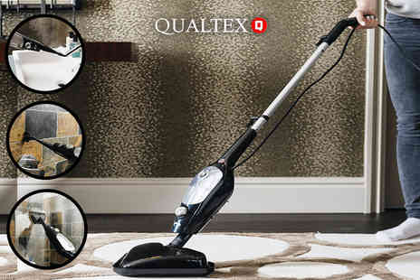 Qualtex UK - Handheld and upright steam mop - Save 68%