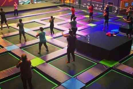 Air Unlimited - One Hour Trampoline Park Access for Up to Four - Save 37%