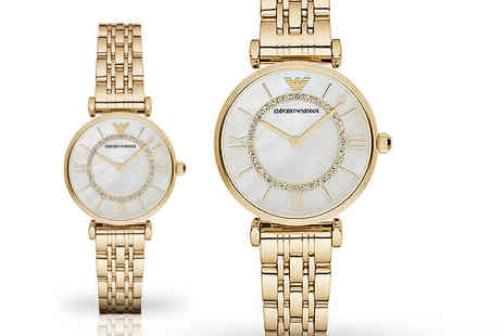 GK1706 - Ladies ar1907 gold emporio armani watch - Save 51%