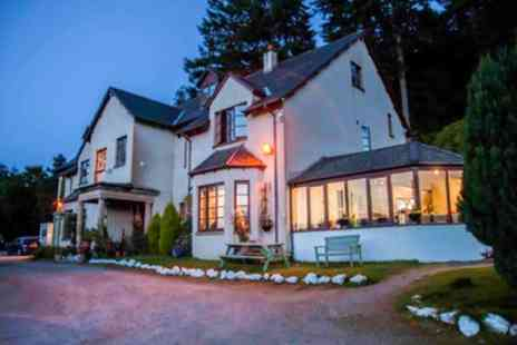 The Craigdarroch Inn - One, Two or Three Nights Stay for Two with Breakfast, Dinner and Wine - Save 40%