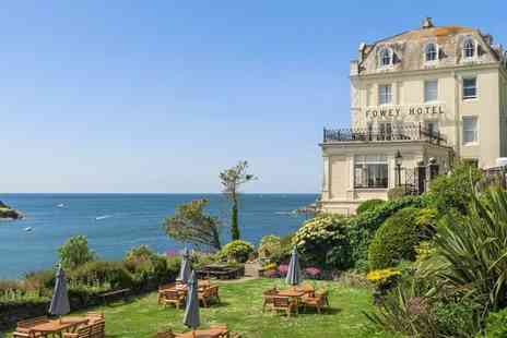 The Fowey Hotel - Luxury Stay for Two with Breakfast, AA Rosette Dinner - Save 38%