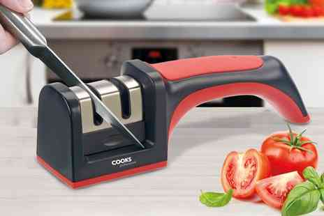 Groupon Goods Global GmbH - Cooks Professional Knife Sharpener - Save 77%