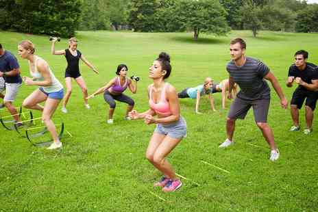 Fit Camp UK - Ten Boot Camp Sessions for One or Two - Save 92%