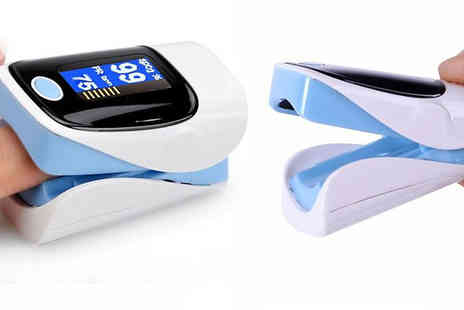 Black Sheep - Fingertip Pulse Oximeter Monitor Available in 3 Colours - Save 75%