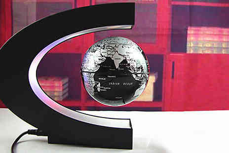 Black Sheep - Magnetic Levitation Floating Globe Choose Two Colours - Save 43%