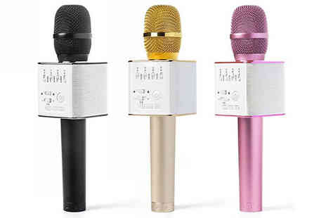 Black Sheep - Bluetooth Karaoke Microphone Choose One or Two - Save 67%