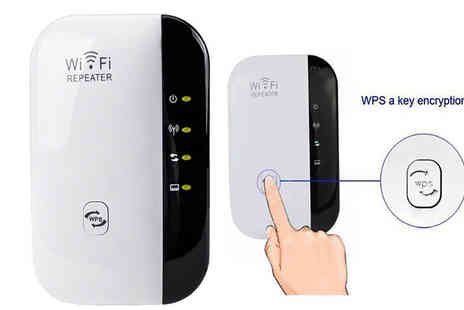 Black Sheep - Plug In Wi-Fi Repeater - Save 80%