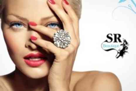 SR Beautique - Gelish Manicure For Two - Save 66%