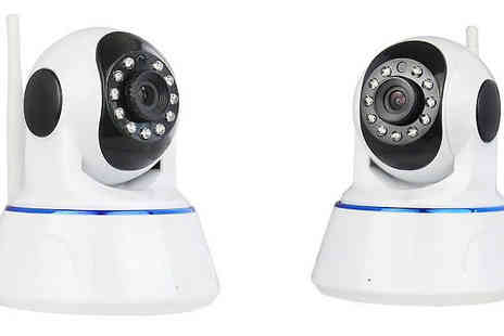 Black Sheep - Smartphone Controlled HD Wi-Fi CCTV Camera - Save 71%