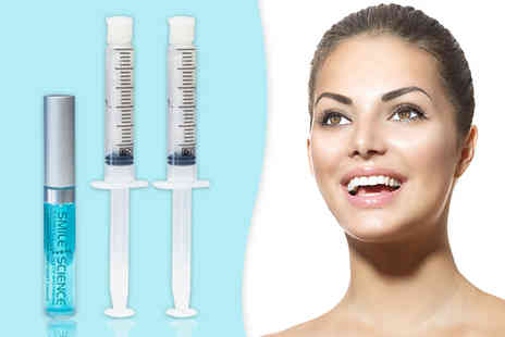 Smile Science - Smile Science LED light activated advanced teeth whitening treatment refill kit - Save 89%