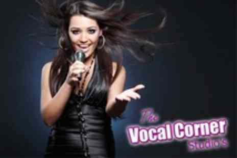 The Vocal Corner Studios - Three Singing or Acting Lessons - Save 71%