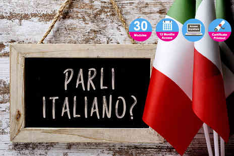Vizual Coaching - Online Italian language course - Save 91%