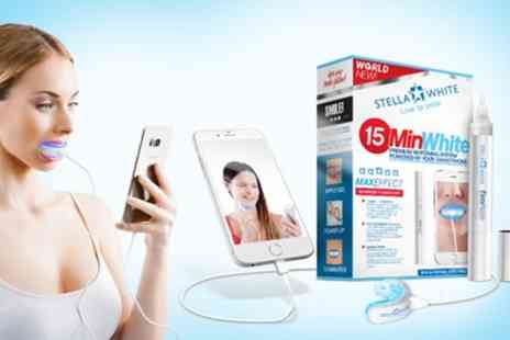 Groupon Goods Global GmbH - One or Two Stella White 15min White Kits for iPhone or Android Phone - Save 86%