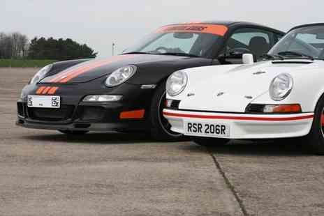Buyagift - Twelve lap double supercar driving thrill, drive both a classic and modern Porsche - Save 0%