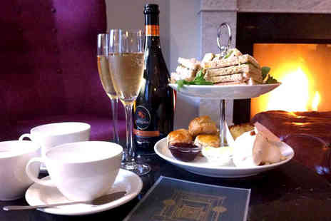 Brooks Hotel - Afternoon tea for two people with a glass of Prosecco each - Save 33%