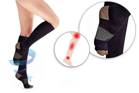 Ckent - Pair of compression socks - Save 40%