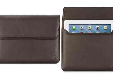 Groupon Goods Global GmbH - Belkin Premium Leather Sleeve for New iPad, iPad Air, iPad Air 2 and iPad 4th Gen - Save 0%
