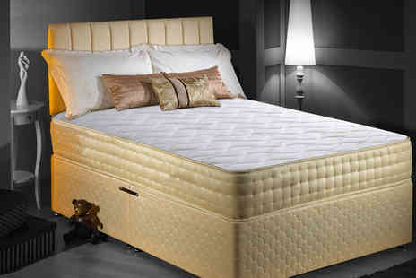 Sir Sleep A Lot - 3ft Single Rio Gold Memory Foam Bio Natural - Save 89%