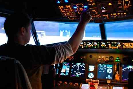 iPilot - Boeing 737 flight simulator experience - Save 53%