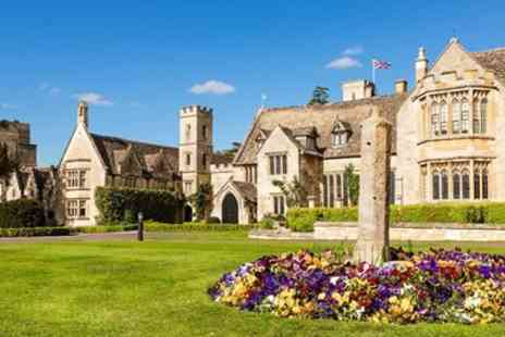 Ellenborough Park - Five Star 16th century Cotswolds hotel stay - Save 0%