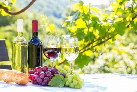 Buyagift - Vineyard tour, wine tasting and lunch or afternoon tea for two - Save 0%