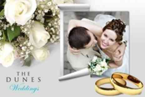 The Dunes - Wedding Package For 60 Guests With Sparkling Wine Reception and Traditional Carvery - Save 50%