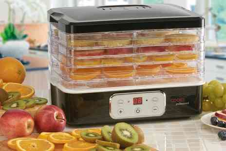 Groupon Goods Global GmbH - Cooks Professional Six Tier Food Dehydrator with Digital Temperature Control - Save 54%