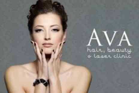 AVA Hair, Beauty and Laser Clinic - Manicure, Pedicure, and Mini Facial - Save 56%